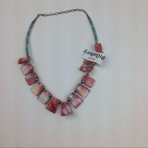 NWOT.  Navajo Artist Made Necklace